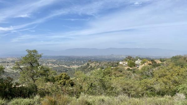 Palomar Mountain, viewed from the south