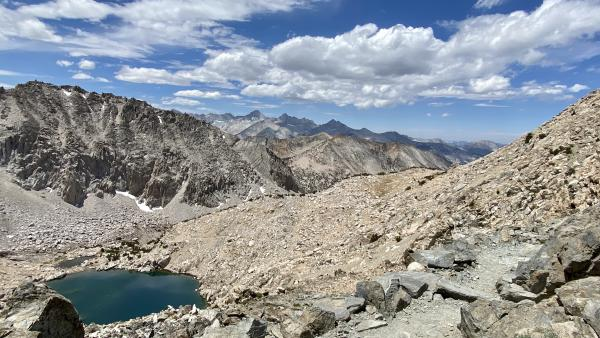 A high alpine view
